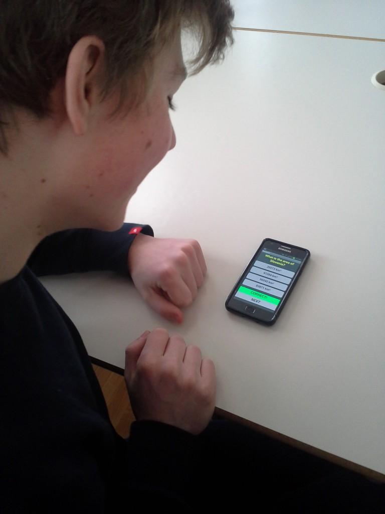 Izdelava prve mobilne aplikacije v obliki igre